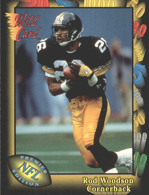 1991 Wild Card #37 Rod Woodson