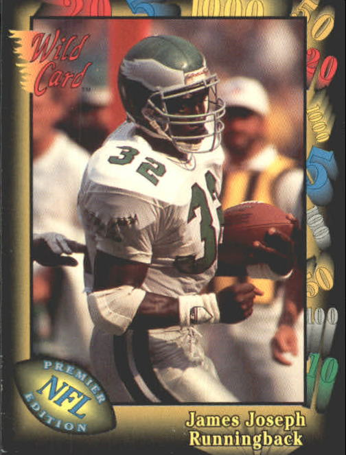 1991 Wild Card #45 James Joseph RC