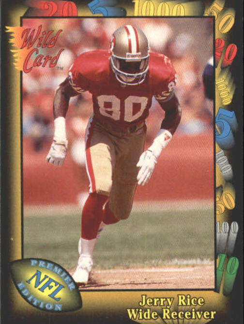 1991 Wild Card #73 Jerry Rice