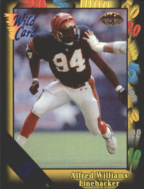 1991 Wild Card #84 Alfred Williams RC