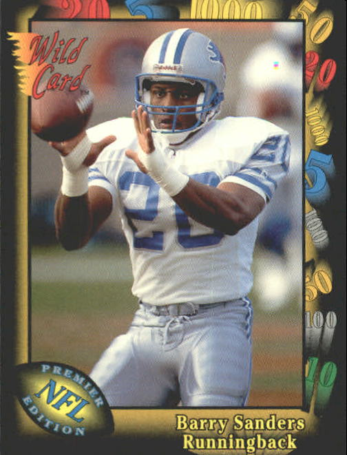 1991 Wild Card #89 Barry Sanders
