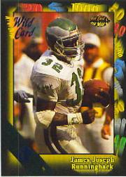 1991 Wild Card 5 Stripe #45 James Joseph