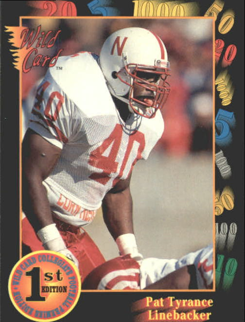 1991 Wild Card Draft #6 Pat Tyrance