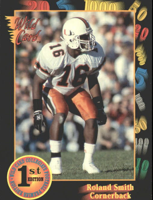 1991 Wild Card Draft #12 Roland Smith