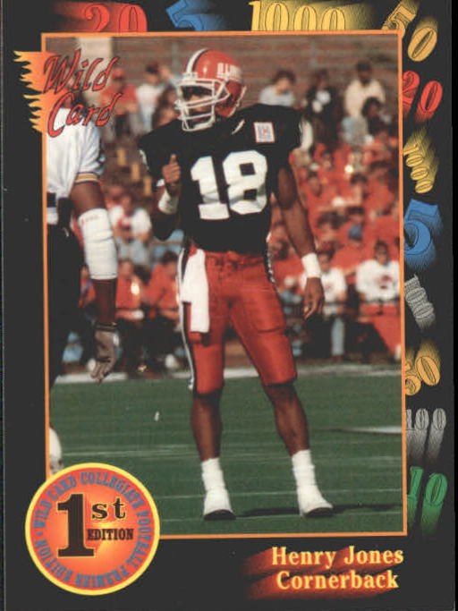 1991 Wild Card Draft #20 Henry Jones