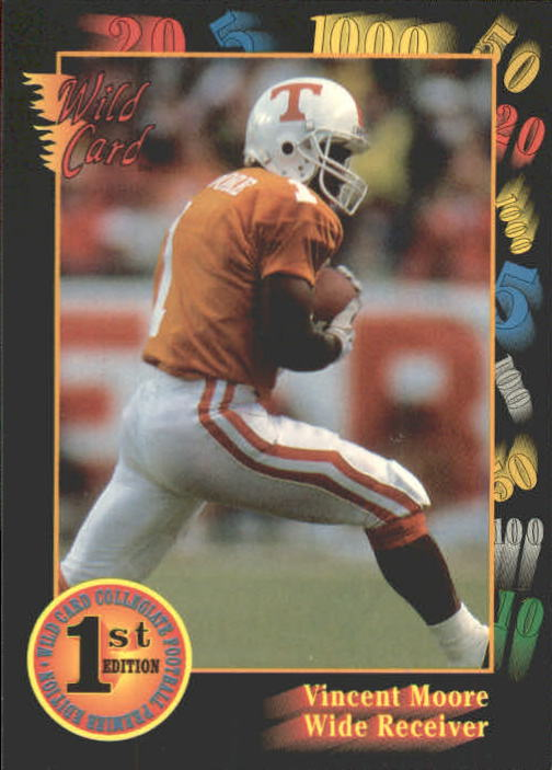 1991 Wild Card Draft #26 Vince Moore