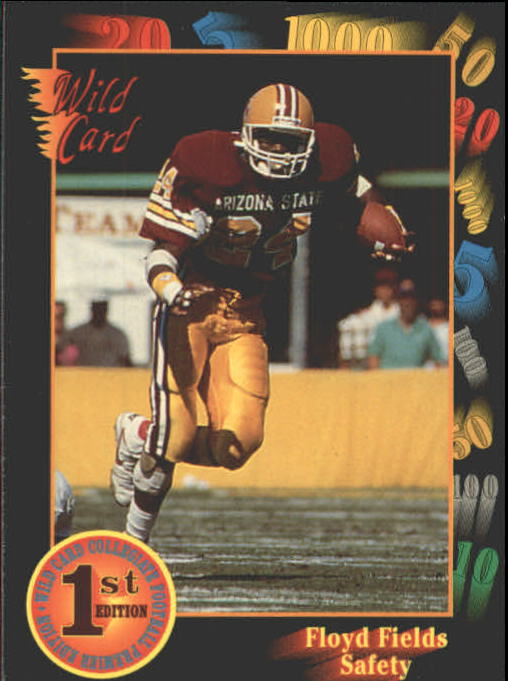 1991 Wild Card Draft #33 Floyd Fields