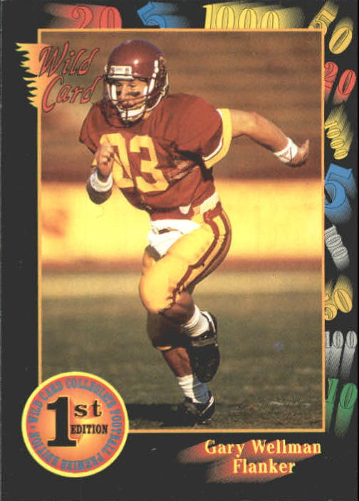 1991 Wild Card Draft #36 Gary Wellman