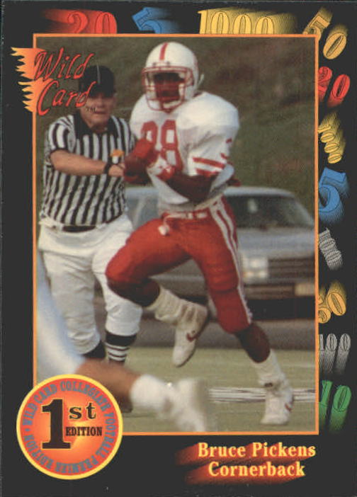 1991 Wild Card Draft #46 Bruce Pickens