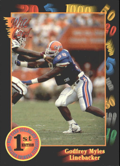 1991 Wild Card Draft #47 Godfrey Myles