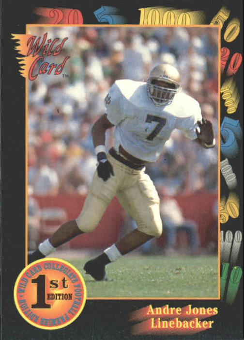 1991 Wild Card Draft #66 Andre Jones