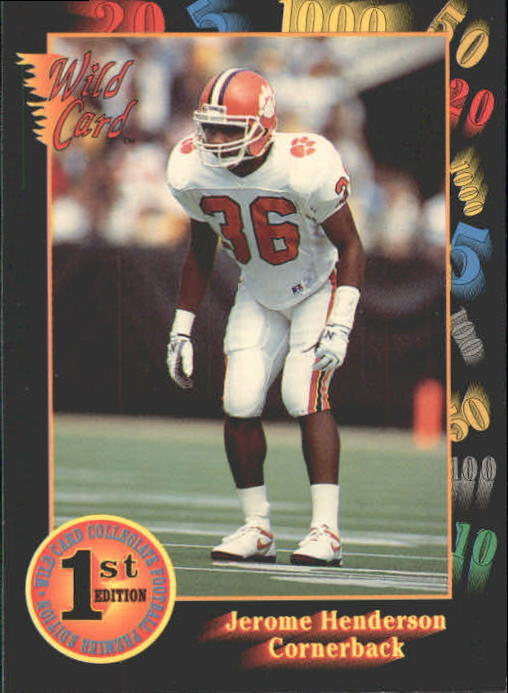 1991 Wild Card Draft #71 Jerome Henderson