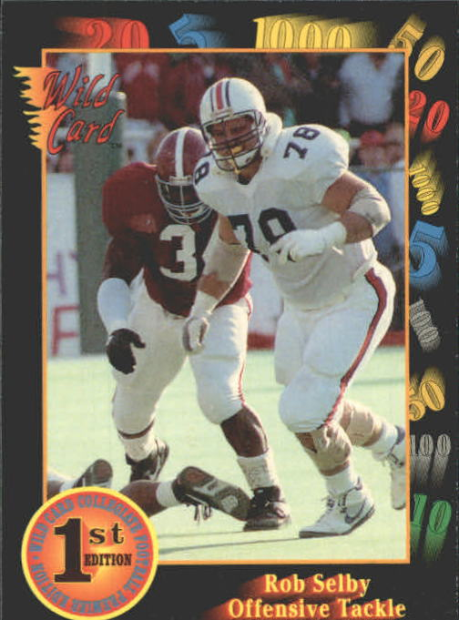 1991 Wild Card Draft #80 Rob Selby