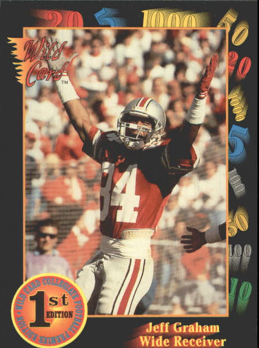 1991 Wild Card Draft #89 Jeff Graham