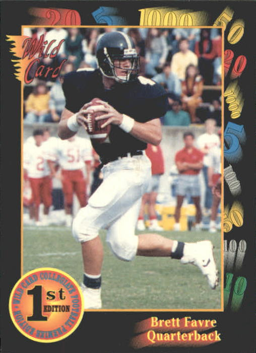 1991 Wild Card Draft #119 Brett Favre