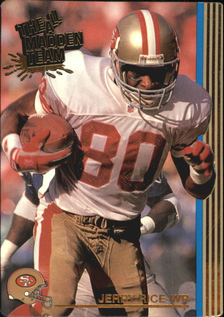 1992 Action Packed All-Madden #10 Jerry Rice