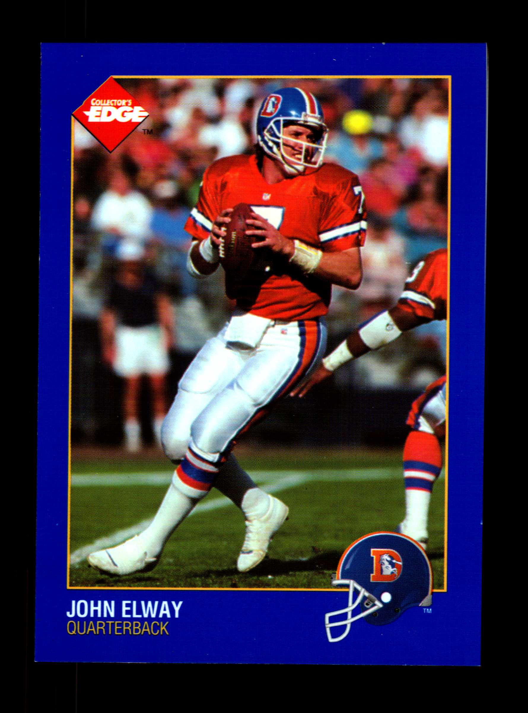 1992 Collector's Edge Promos #TS1 John Elway