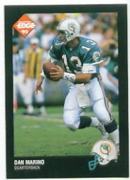 1992 Collector's Edge Prototypes #5 Dan Marino