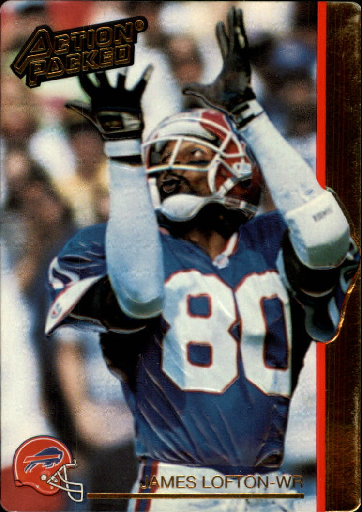 1992 Action Packed #16 James Lofton