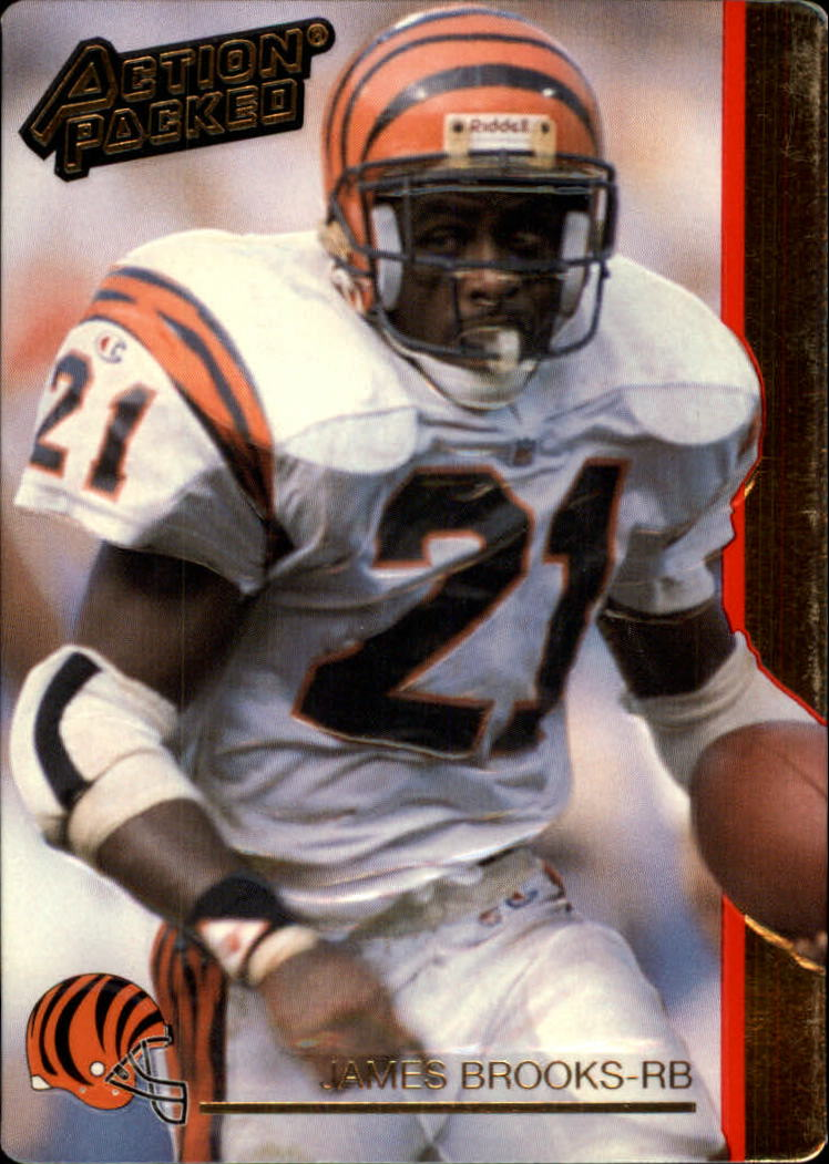 1992 Action Packed #32 James Brooks