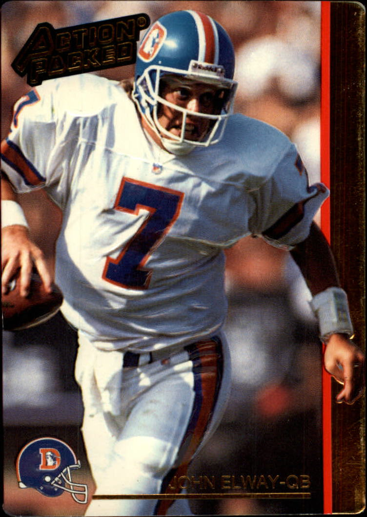 1992 Action Packed #69 John Elway