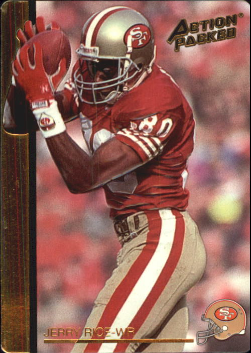 1992 Action Packed Rookie Update #59 Jerry Rice