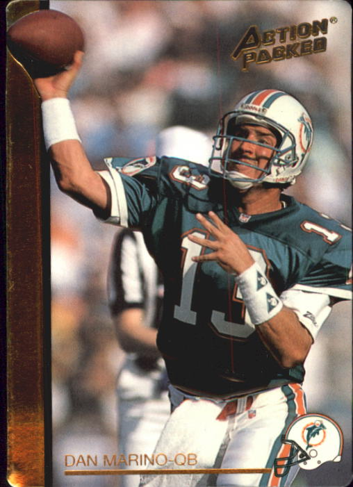 1992 Action Packed Rookie Update #71 Dan Marino