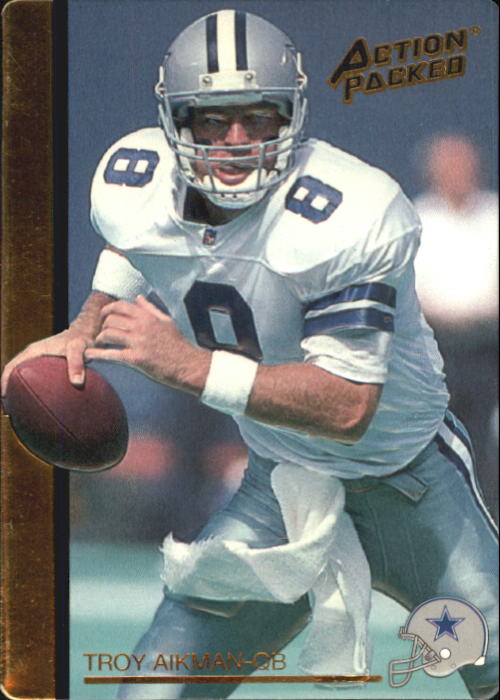 1992 Action Packed Rookie Update #76 Troy Aikman