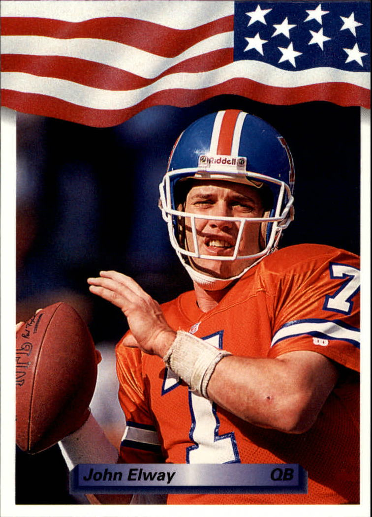 1992 All World #88 John Elway