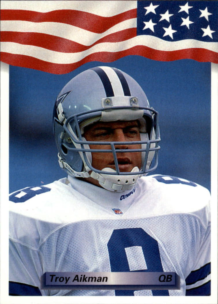 1992 All World #130 Troy Aikman