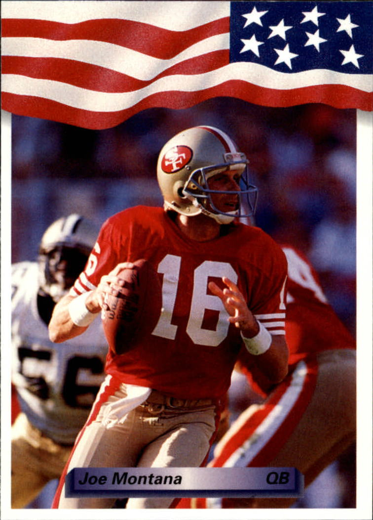1992 All World #182 Joe Montana
