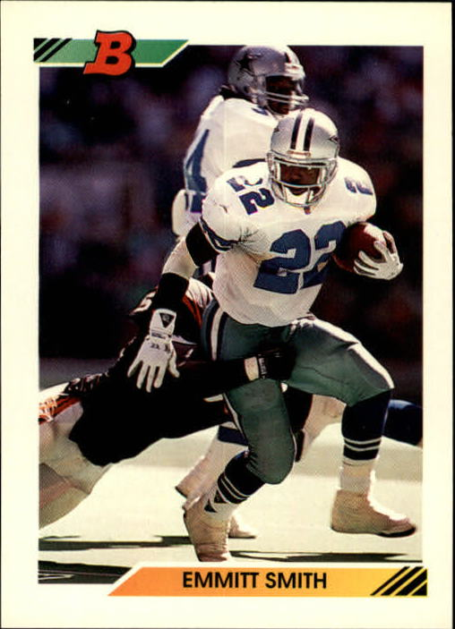 1992 Bowman #100 Emmitt Smith