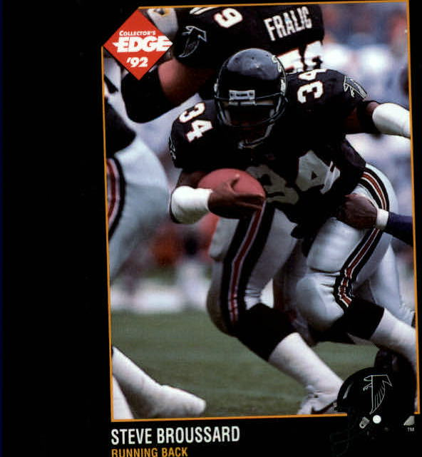 1992 Collector's Edge #2 Steve Broussard