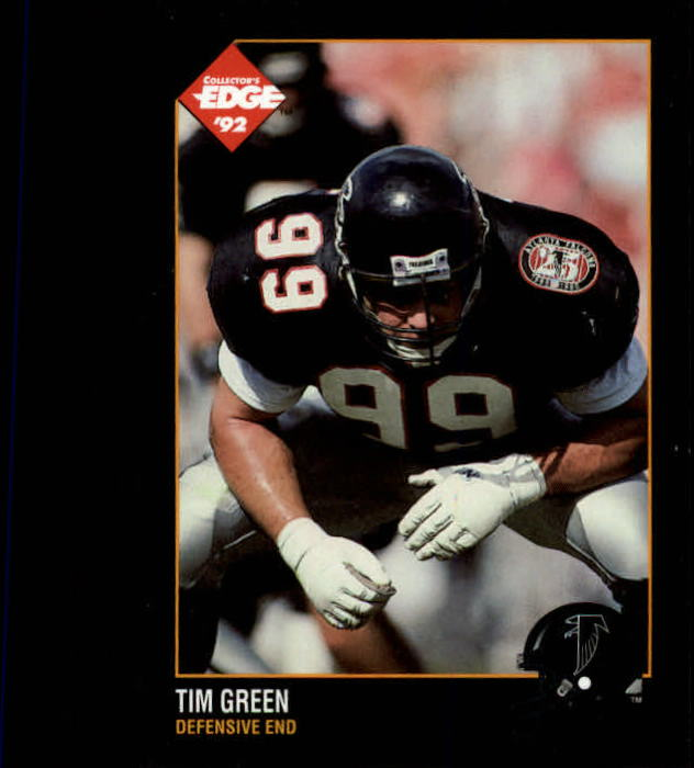 1992 Collector's Edge #4 Tim Green