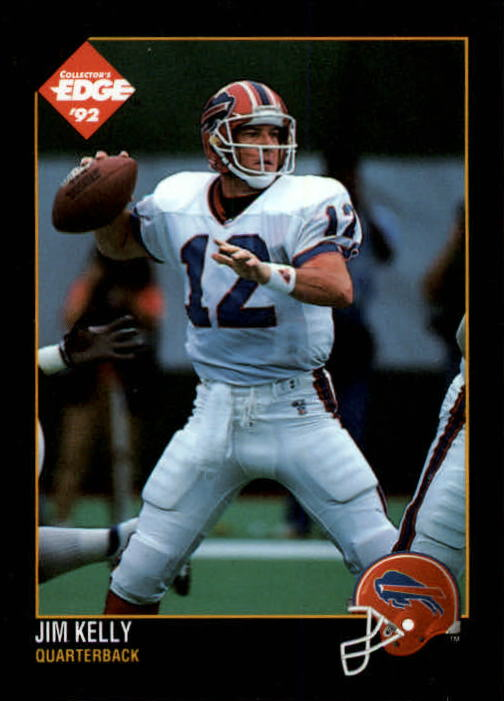 1992 Collector's Edge #7 Jim Kelly