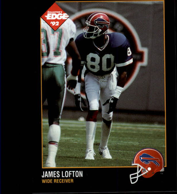 1992 Collector's Edge #8 James Lofton