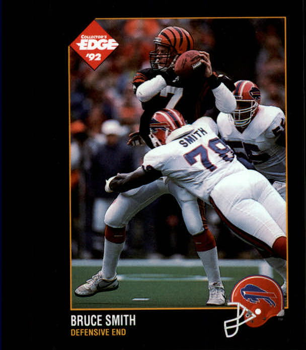 1992 Collector's Edge #10 Bruce Smith