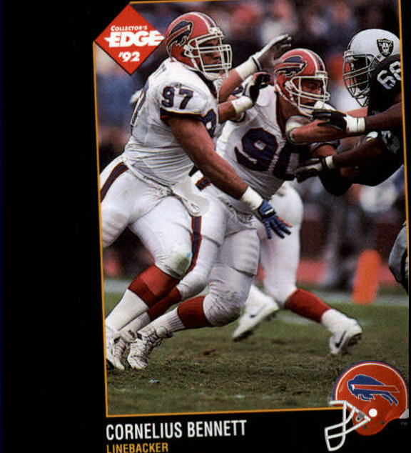 1992 Collector's Edge #12 Cornelius Bennett