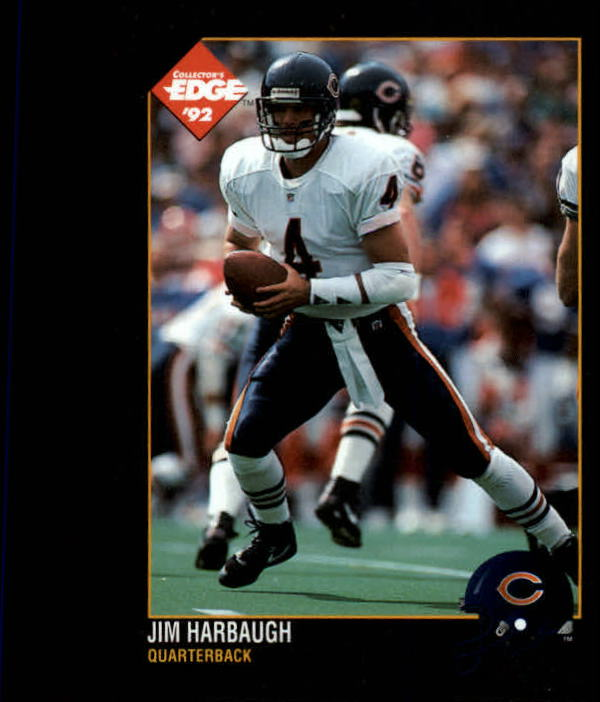 1992 Collector's Edge #13 Jim Harbaugh