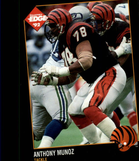 1992 Collector's Edge #21 Anthony Munoz