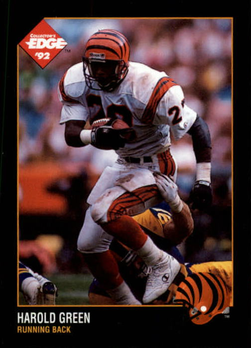 1992 Collector's Edge #23 Harold Green