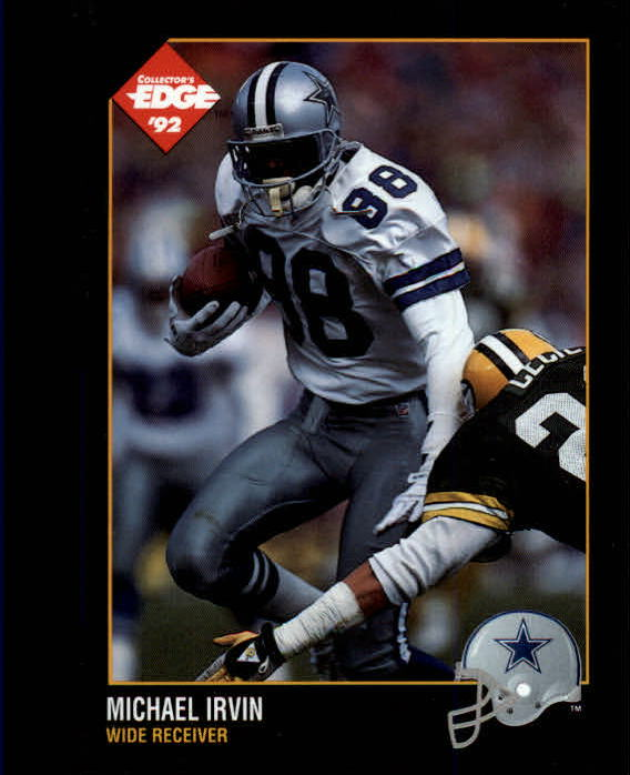 1992 Collector's Edge #33 Michael Irvin