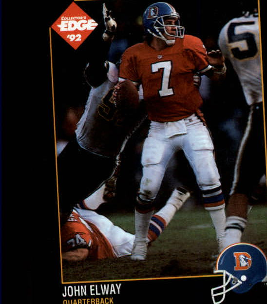1992 Collector's Edge #37 John Elway