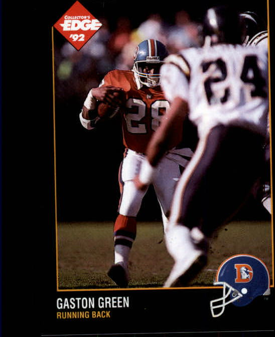1992 Collector's Edge #38 Gaston Green