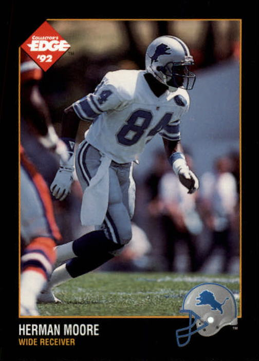 1992 Collector's Edge #49 Herman Moore