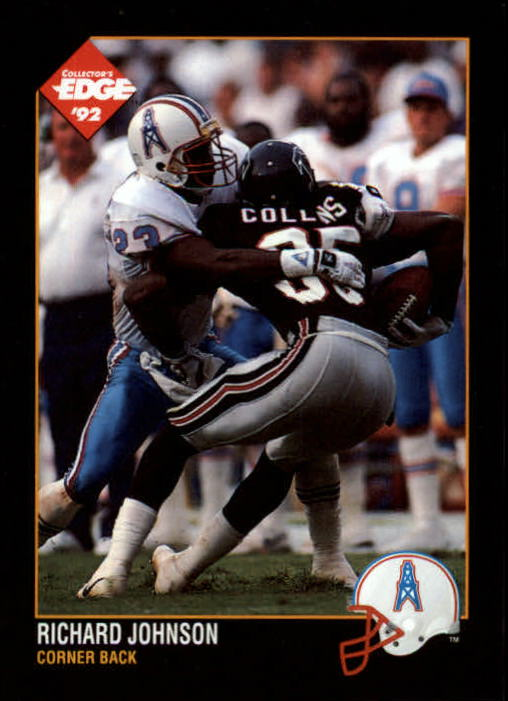 1992 Collector's Edge #62 Richard Johnson CB