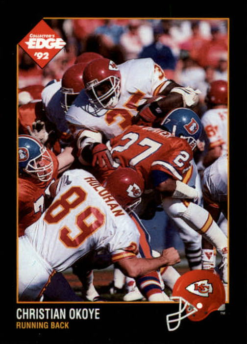 1992 Collector's Edge #70 Christian Okoye