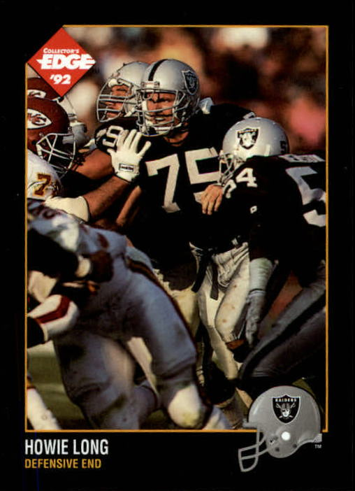 1992 Collector's Edge #80 Howie Long