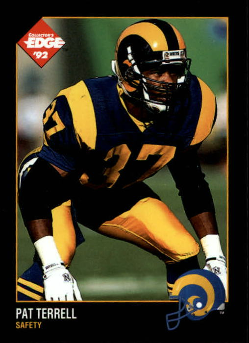 1992 Collector's Edge #89 Pat Terrell