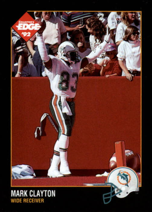1992 Collector's Edge #91 Mark Clayton